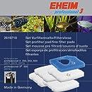 Eheim Set 1x Filtermatte und 4 x Filtervlies für Filter 2071, 2073 und 2075 professional III