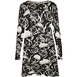 Vestido manga larga para mujer - Skull Print