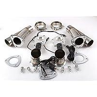 Ruien scarico collettori Y Un paio elettrico in acciaio inox (Tubo Kit con interruttore manuale