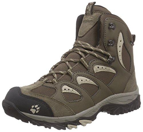 Jack Wolfskin Mountain Storm Texapore Mid, Damen Trekking- & Wanderstiefel, Braun (sahara 5122), 43