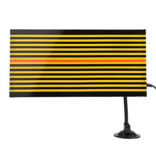 Malerei Board (qiilu PDR Ziehen paintless Karosserieteilen Reparatur Panel zu Linien Ziehen für Karosserieteilen ohne Malerei, Reflektor LED Board USB wiederaufladbar mit verstellbare Halterung)