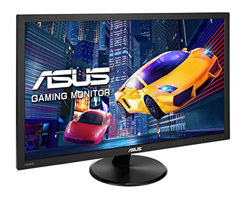 ASUS VP228HE 215 inch FHD 1920 x 1080 Gaming Monitor 1ms HDMI D Sub Low Blue gentle Flicker Free TUV Certified Black Products