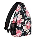 MOSISO Rope Sling Backpack (Up to 13 Inch), Water Repellent Durable Multipurpose Crossbody