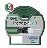 EFFE Tubo da Giardino antitorsione Professionale 5/8 Pollici, mt 50 di Tubo da Giardino 5 Strati, Tubo per Irrigazione da Giardino, Made in Italy