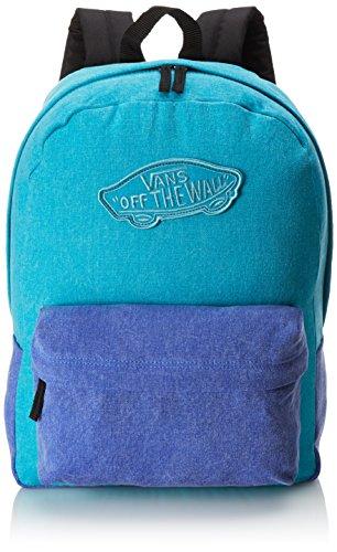Vans Realm, Women's Backpack, Blue (capri Breeze Washed), One Size Vans Realm, Women's Backpack, Blue (capri Breeze Washed), One Size 51srbJBj2CL