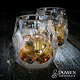 James Bentley - Vaso de whisky de doble pared