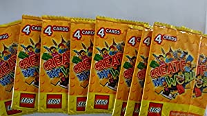 Sainsburys Lego Create The World Trading Cards (10 packs)