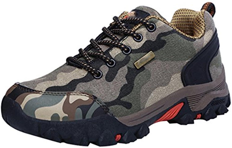 MYXUA Zapatos De Senderismo Al Aire Libre Para Hombres Zapatos Para Caminar Modelos Par Zapatos Todoterreno Antideslizante  -