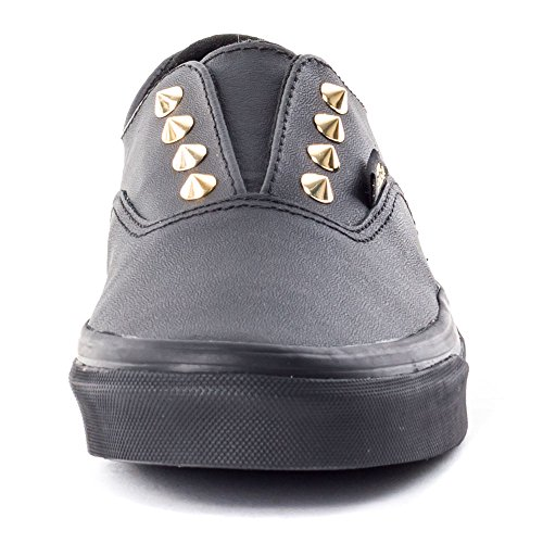 Vans  U Authentic Gore -  Sneakers Basses - Avec Clous - Cuir Schwarz