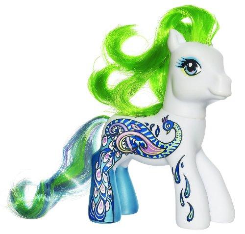 My Little Pony Rare SDCC 2009 Exclusif Collector 2009 Mon Petit Poney Paon Salon Las Vegas Edition Spéciale