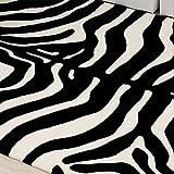 Minimalistischen Skandinavischen Mode -Teppich, Wohnzimmer, Schlafzimmer, Teppich, Sofa, Tisch, kommode, Schwarz - weiß , 140*200cm