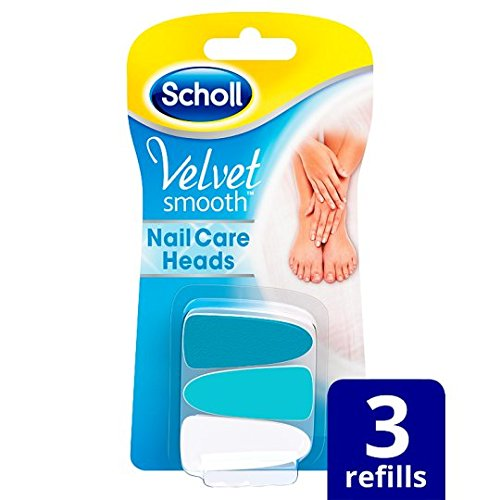 Scholl Velvet Smooth Nail Care Refill X3