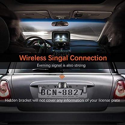 Trohestar-Rckfahrkamera-und-Monitor-Set-Wireless-Einparkhilfe-mit-5-LCD-Auto-Monitor-und-IP69-Wasserdichte-Rear-View-Kamera-fr-Auto-Bus-LKW-Schulbus-Anhnger