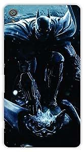 Crazy Beta Superhero Design Printed Back Cover For Sony Xperia XA