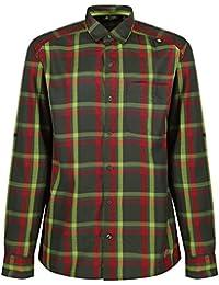 Outdoor Hemd für Herren mit Hochwertigem Stick, Brusttasche. als Lang- Oder  Kurzarm, 9c9e0888e5