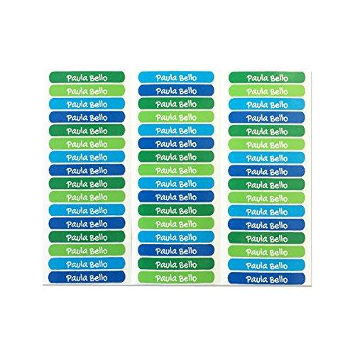 50 Etiketten um Gegenstände zu markieren, 6 x 1 cm. (Kelle 5)