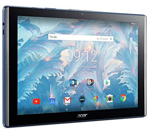 Acer Iconia One 10 B3-A40 10.1-Inch FHD IPS Tablet - Stellar Blue - (MediaTek MT8167A 1.3 Quad Core Processor, 2 GB RAM, 16 GB eMMC, Android 7.0) (Stellar Blue)