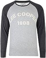 Lee Cooper Printed Stroud Long Sleeve T-shirt