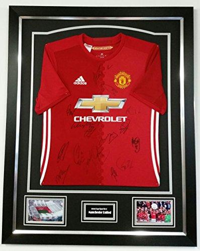 RARE Manchester United Squad Signed Shirt *AFTAL DEALER Certificate*