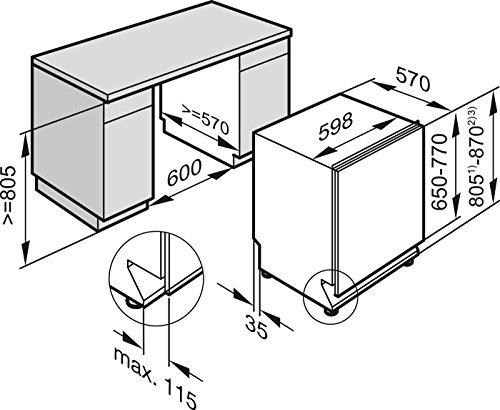 Miele G6360 SCVi D ED230 2,1 EcoLine Geschirrspüler Vollintegriert - 6