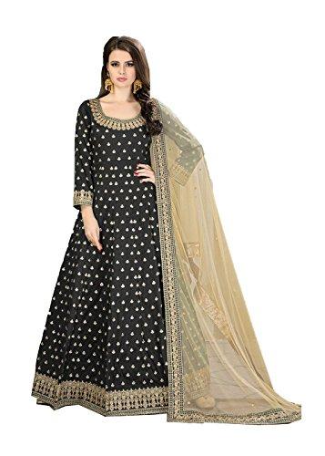 Indian Women Designer Pakistani Ethnic Traditonal Brown Salwar Kameez.