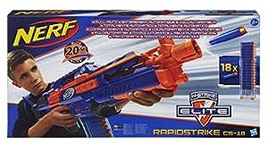 Nerf N-Strike Elite Rapidstrike CS-18 Blaster (Colors may vary) by Nerf