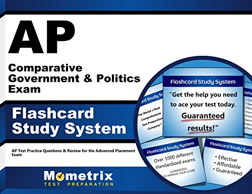 AP Comparative Government and Politics Exam Flashcard Study System: AP Test Practice Questions and Review for the Advanced Placement Exam