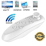 #6: Jetika VR Remote Control Bluetooth Wireless Mini Portable Remote Controller with Controller Selfie ,Wireless Mouse,Video, Music, Mouse, Ebook for iOS Android Smartphones Tablets PC (1 year warranty)