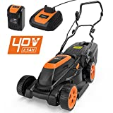 Best Cordless Lawn Mowers - Tacklife Lawn Mower, 40V Cordless Lawn Mower 3-in-1 Review