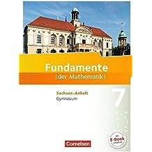 Fundamente der Mathematik - Sachsen-Anhalt: 7. Schuljahr - Schülerbuch