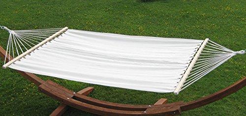Doppelhängematte 150x200cm BEIGE aus Baumwolle von AS-S