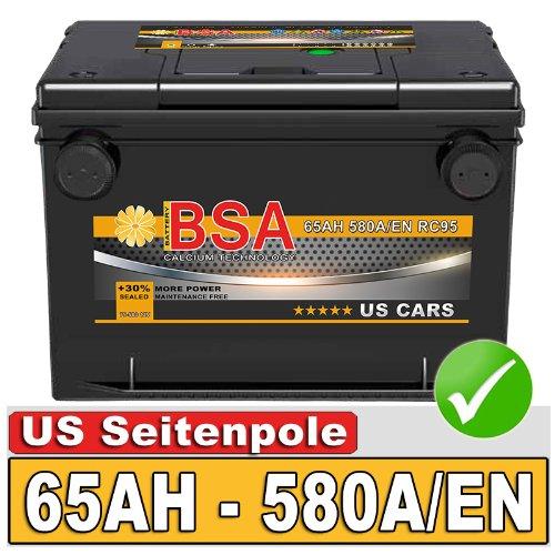 Preisvergleich Produktbild BSA 75-580 Autobatterie