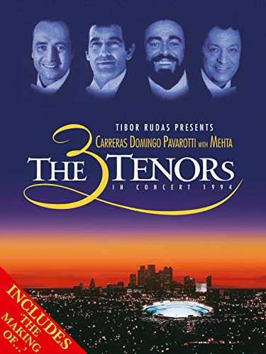 The Three Tenors in Concert 1994 with The Vision (The Making of) [OV]