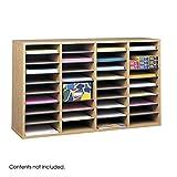 Best Safco Home Organizers - Safco Medium Oak Wood Adjustable Literature Organiser Review