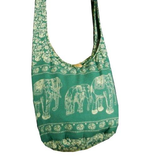 BenThai Products , Sac bandoulière pour femme Noir Blue ME13 grand Evergreen ME4