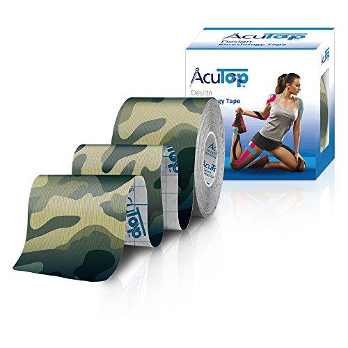 AcuTop Design Kinesiology Tape Grün Camo -