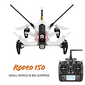 Walkera Original Drone Rodeo 150 White + Camera 600tvl + Osd + Rtf by WALKERA