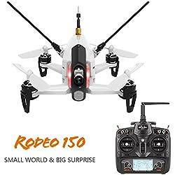 WALKERA RODEO 150 DRONE FPV + RTF + CAMERA + QUADCOPTER + DEVO7
