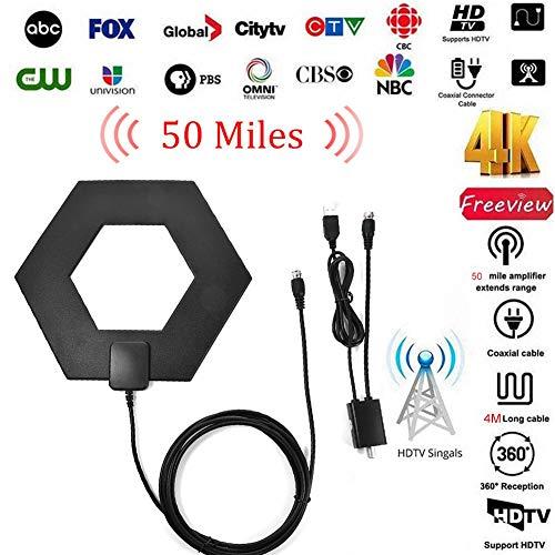 AITOCO HD Portable Indoor/Outdoor Digital HD Antenne HDTV Antenne mit exzellenter Leistung Vhf-uhf-outdoor Hdtv