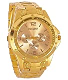 Rosra Analog Gold Dial Men's Watch -Rosr...