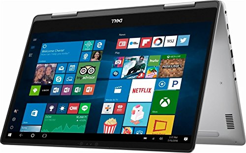 Dell Inspiron 7000 2-in-1 Flagship High Performance 15.6 Inch Full HD Touchscreen Backlit Keyboard Laptop PC, Intel Core I5-8250U Quad-Core, 8GB DDR4, 128GB SSD (Boot) + 2TB HDD, Windows 10 Home