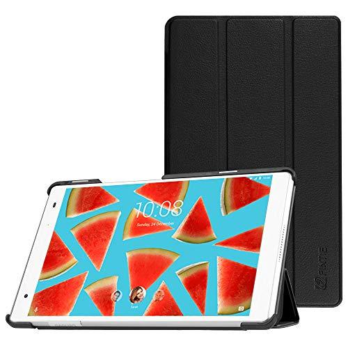 Fintie Hülle für Lenovo Tab 4 8 Plus - Ultradünne Schutzhülle Tasche mit Auto Schlaf/Wach Funktion für Lenovo Tab 4 Plus 8 Zoll Tablet 2017 (Nicht geeignet für Lenovo Tab4 8), Schwarz