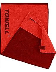 STRYVE Towell Plus Handtuch mit Tasche und Magnetclip, Bekannt aus Die Höhle Der Löwen Sporthandtuch