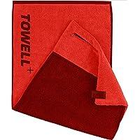 Toalla Towell+ de STRYVE con bolsillo, enganche magnético y protección antideslizante: la toalla para deportistas