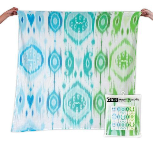 oioi-boy-ikat-digitally-printed-muslin-swaddle-natural-with-blue-multi-design-by-oioi