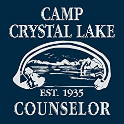 Camp Crystal Lake Sweater Funny Shirts Camping Vintage Horror Novelty Hoodie by Crazy Dog Tshirts