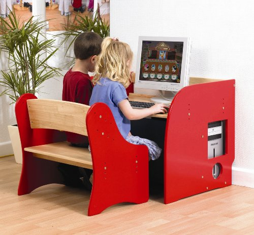 Computer Desk and Seat (UK only)