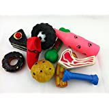 12 x Squeaky Dog Toys