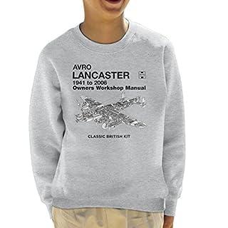 Haynes Owners Workshop Manual Arvo Lancaster 1941 to 2006 Kid's Sweatshirt