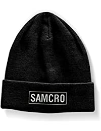 Officially Licensed Merchandise SAMCRO Embroidered Beanie (Black)